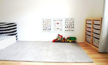 Michels Kinderzimmer mit 24 Monaten
