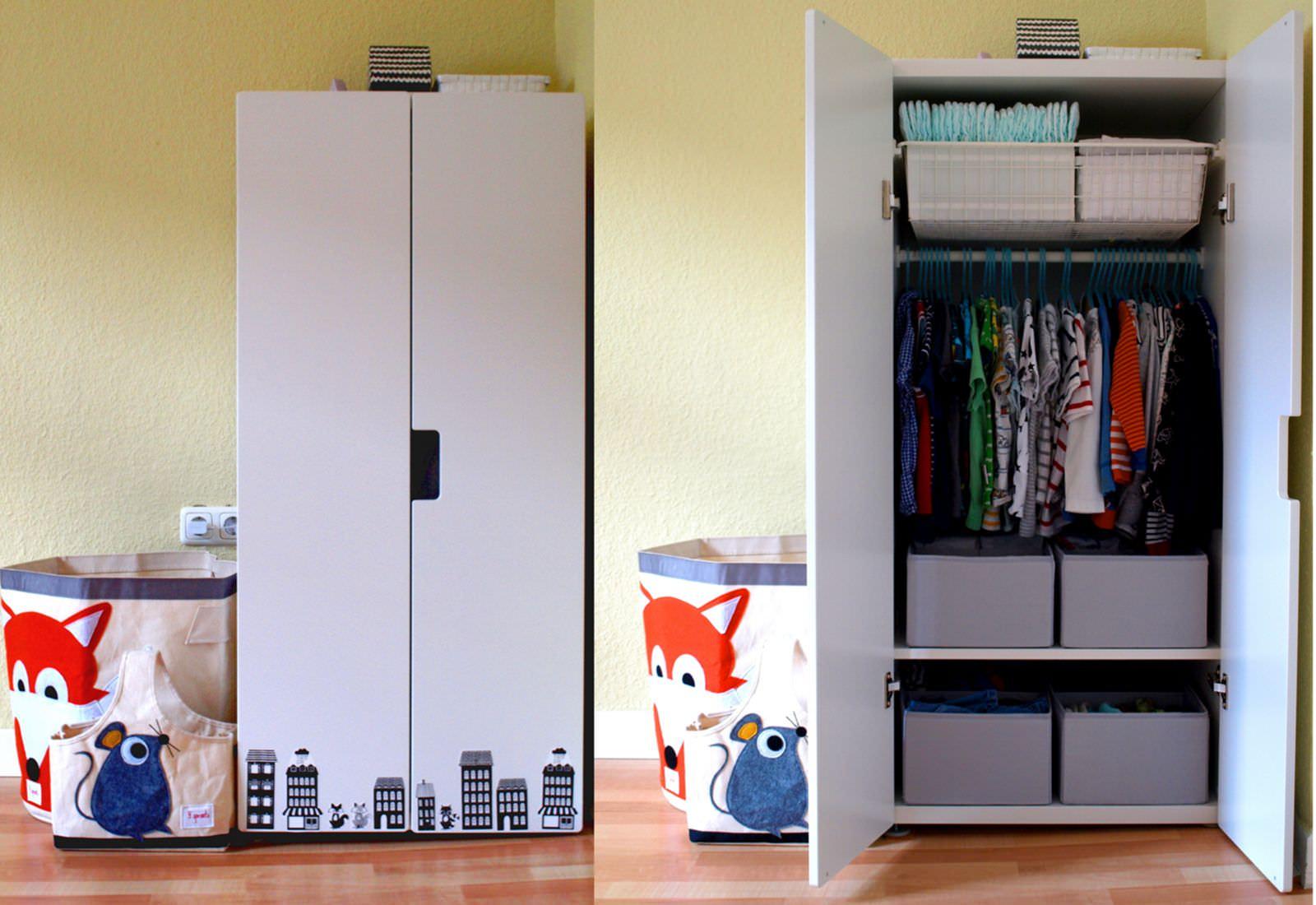 Montessori-inspiriert: Michels Kleiderschrank mit 24 Monaten ...
