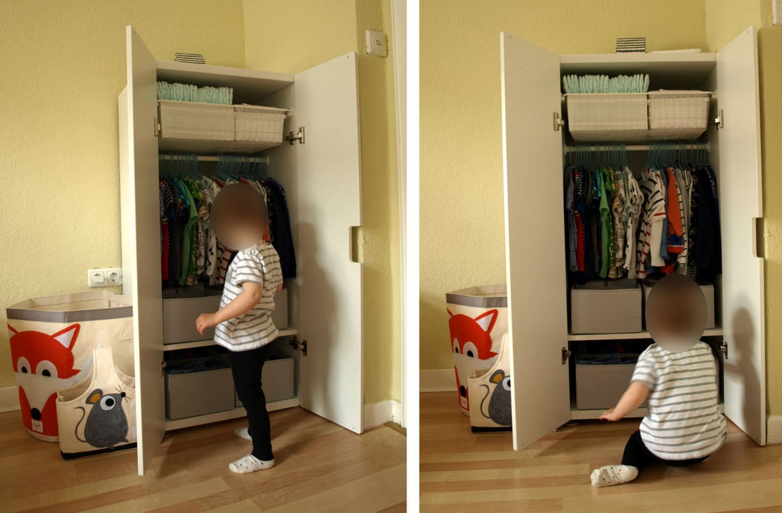 Montessori Inspiriert Michels Kleiderschrank Mit 24 Monaten