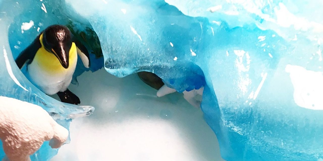 Winterliche Spielidee: Wir erforschen Gletscher und Polartiere