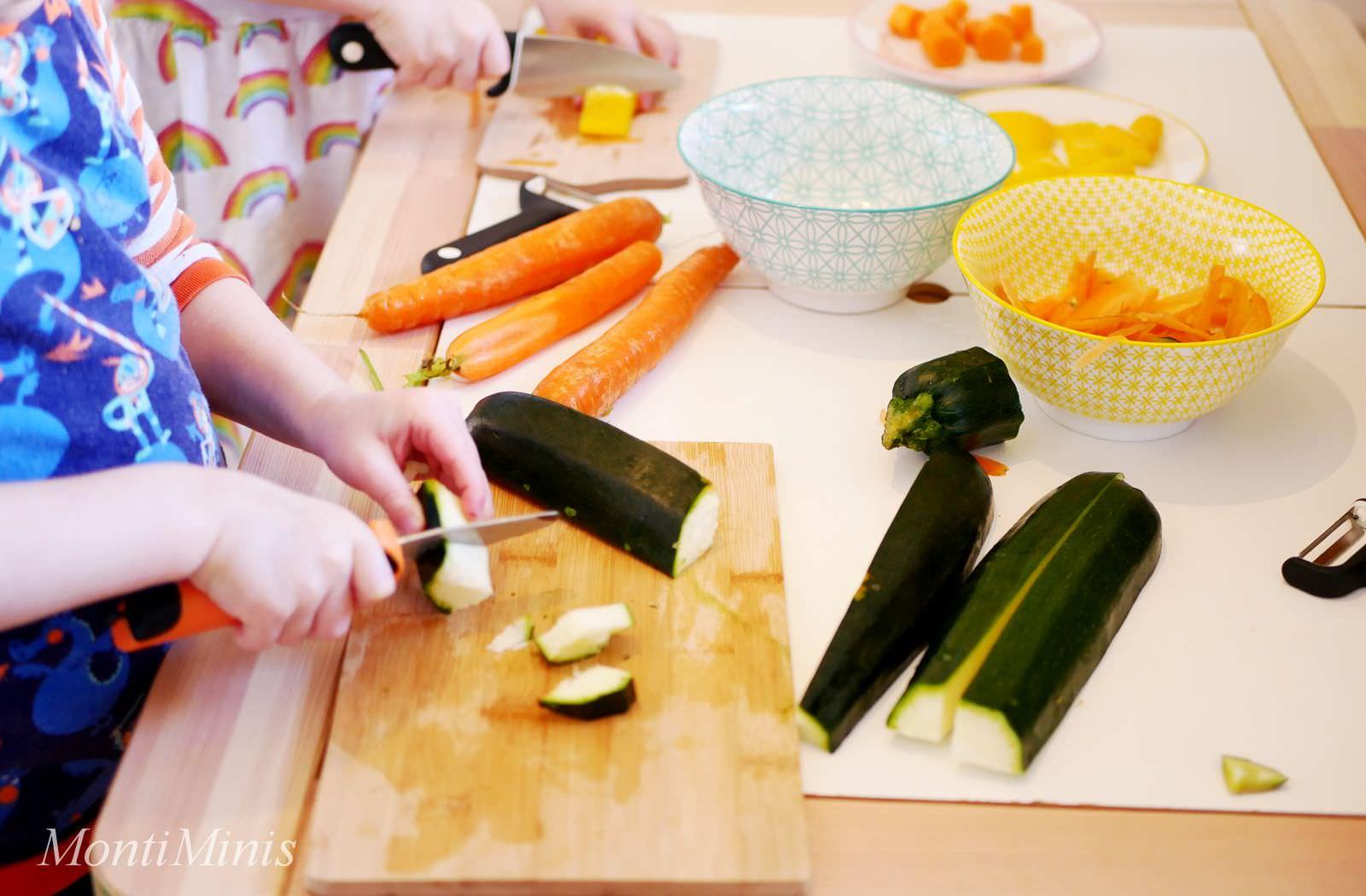 Gemüse Schneiden