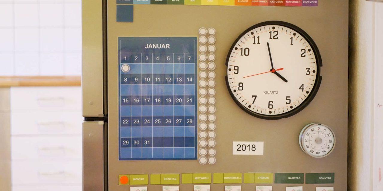 Unser Montessori-inspirierter DIY-Kalender 2018