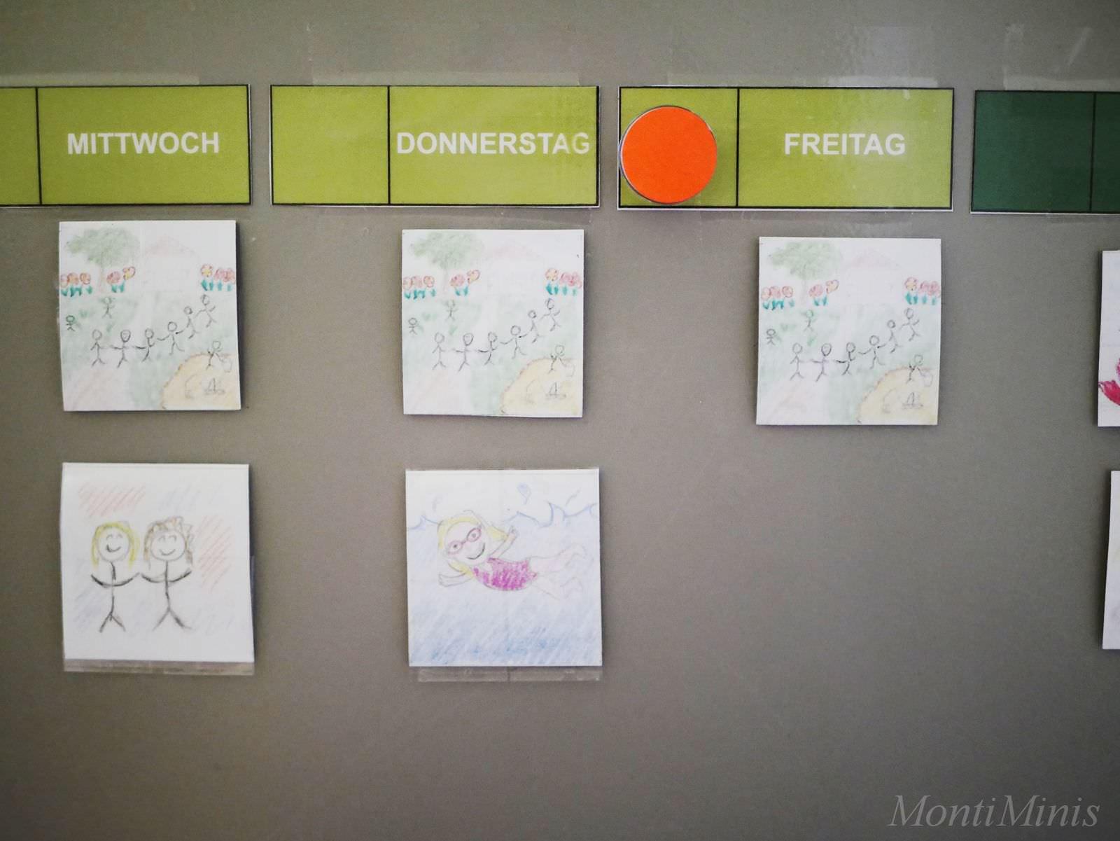 Kühlschrank Jahreskalender : Unser montessori inspirierter diy kalender 2018 montiminis