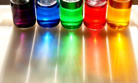 Regenbogengläser – Experimentieren mit Farben