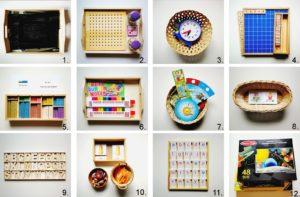 Auf ihrem Montessori Regal mit Anfang 5 Jahren, Montessori inspiriert, Montessori zu Hause, Leben mit Kindern | MontiMinis.com