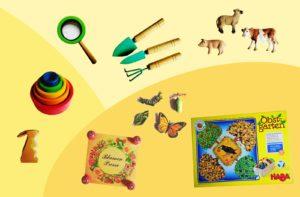 Tolle Geschenkideen für Kinder zu Ostern, Montessori zu Hause, Montessori, Leben mit Kindern, Frühling | MontiMinis.com