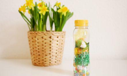 Oster-DIY: Oster-Sensory Bottle für Babys und Kleinkinder
