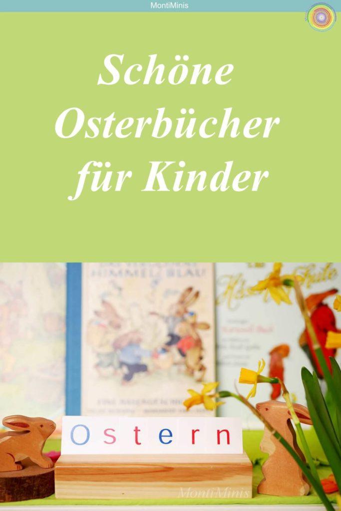 Büchertipps: Schöne Osterbücher für Kinder, Ostern mit Kindern, Osterbuch, Bücher über Ostern, Osterhase, Osterei, Montessori zu Hause | MontiMinis.com
