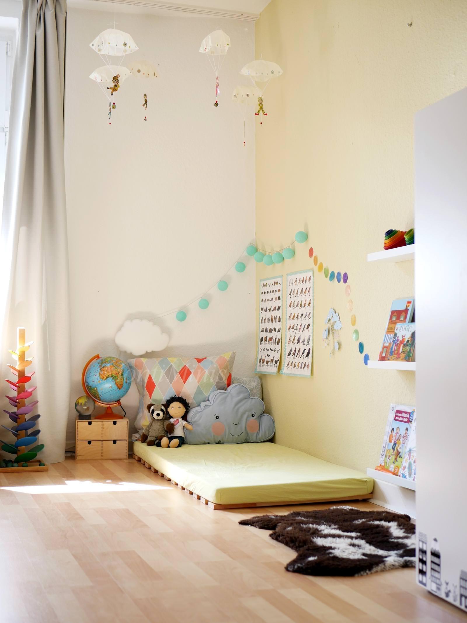 Michels Kinderzimmer mit 2,5 Jahren - MontiMinis