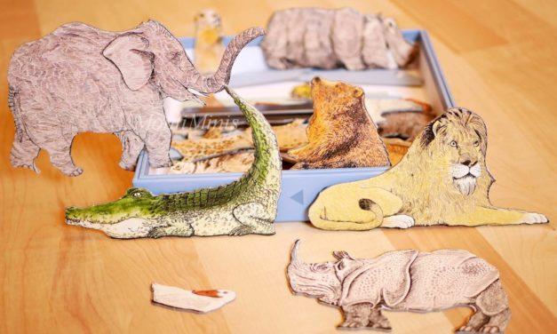 Spiel-Tipp: Ein besonderes Tierpuzzle von F.K.Waechter