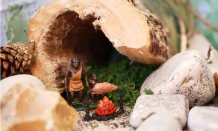 Wir basteln eine Steinzeitwelt