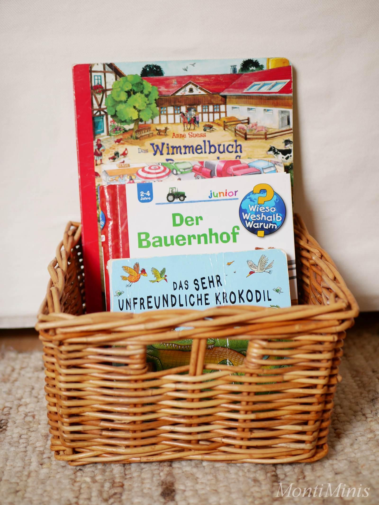 Montessori Und Bucher Vom Umgang Mit Buchern Und