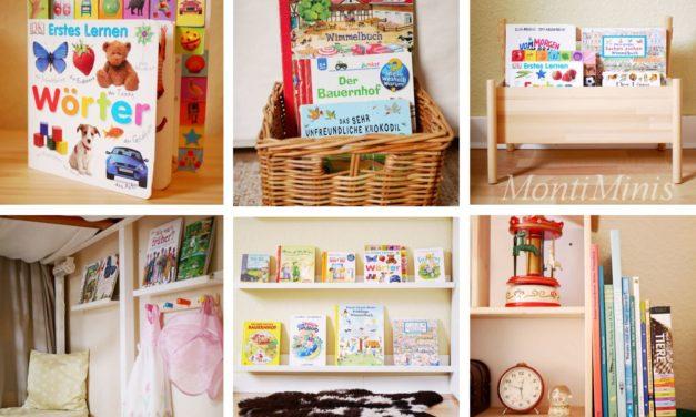 Montessori und Bücher – vom Umgang mit Büchern und Aufbewahrungsideen