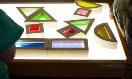 DIY – Ein Lichttisch für die Minis