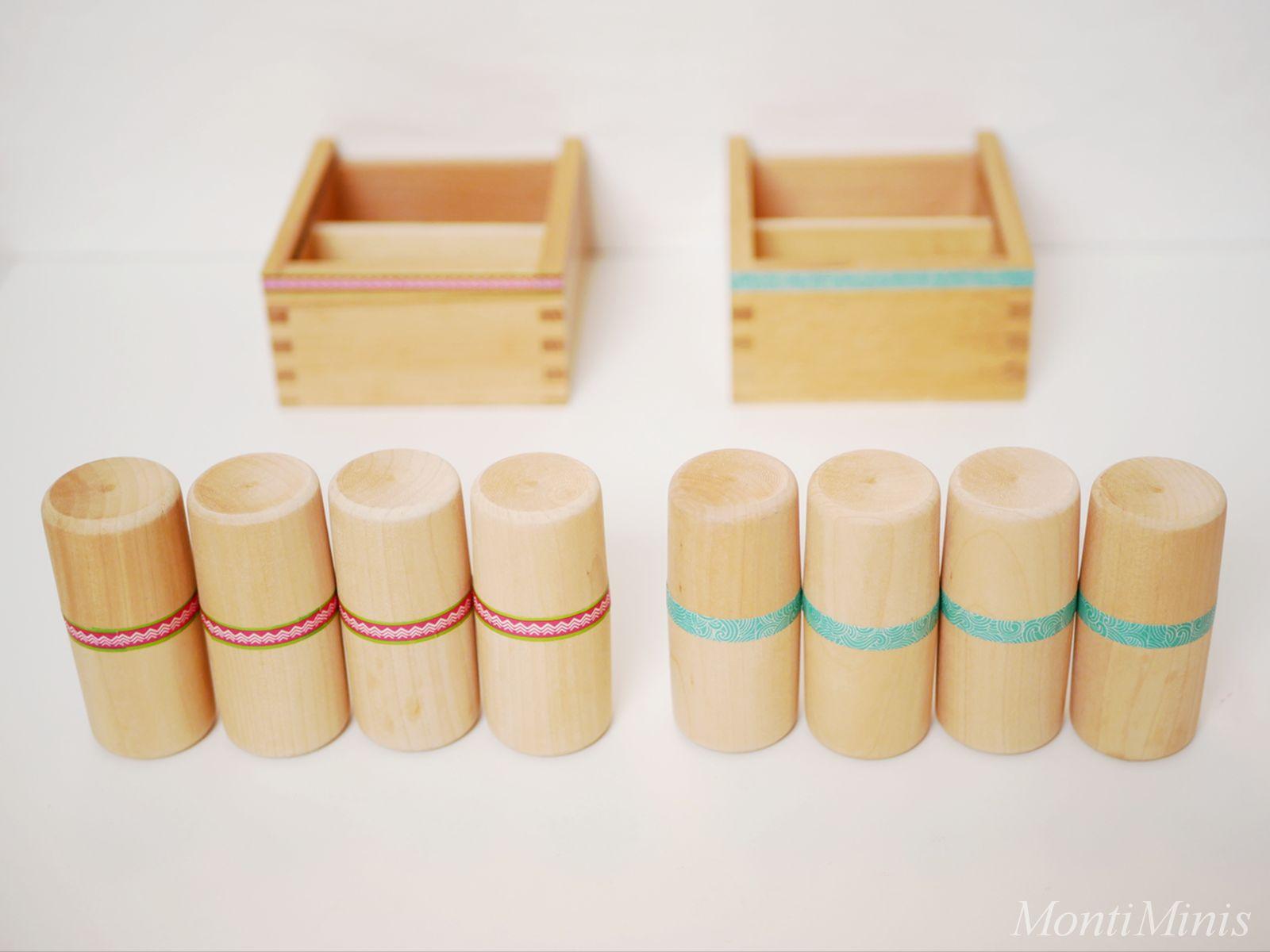 DIY: Montessori Geräuschdosen (Anleitung & Spielideen) - MontiMinis
