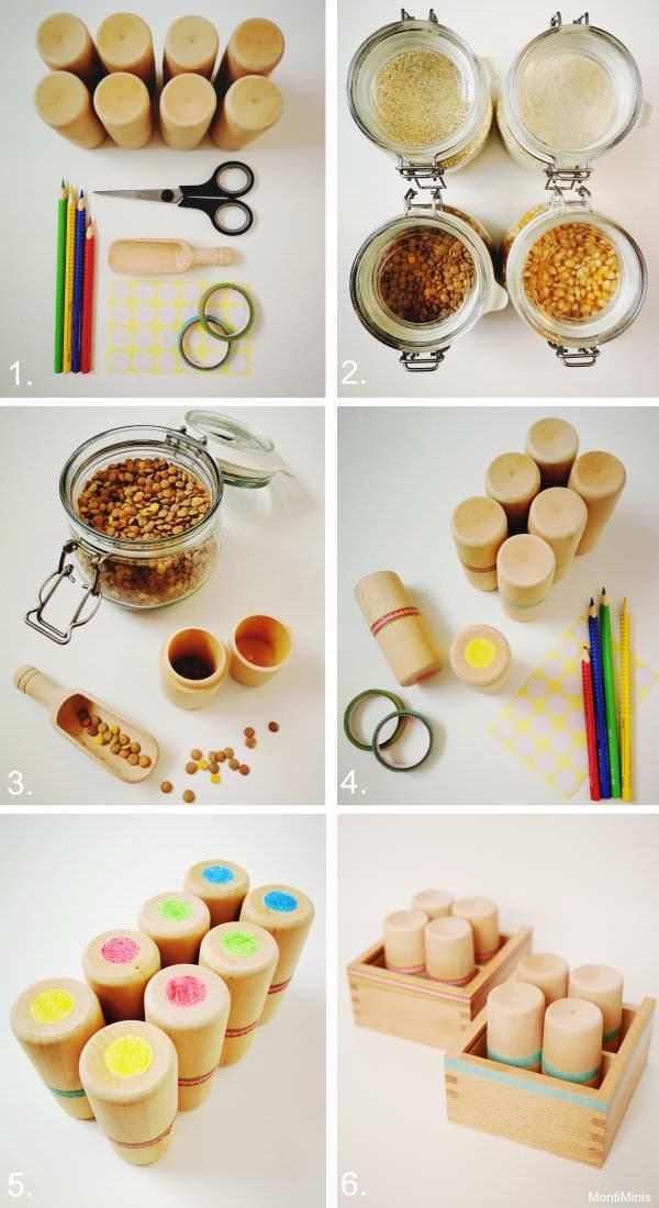 Fabulous DIY: Montessori Geräuschdosen (Anleitung & Spielideen IB89