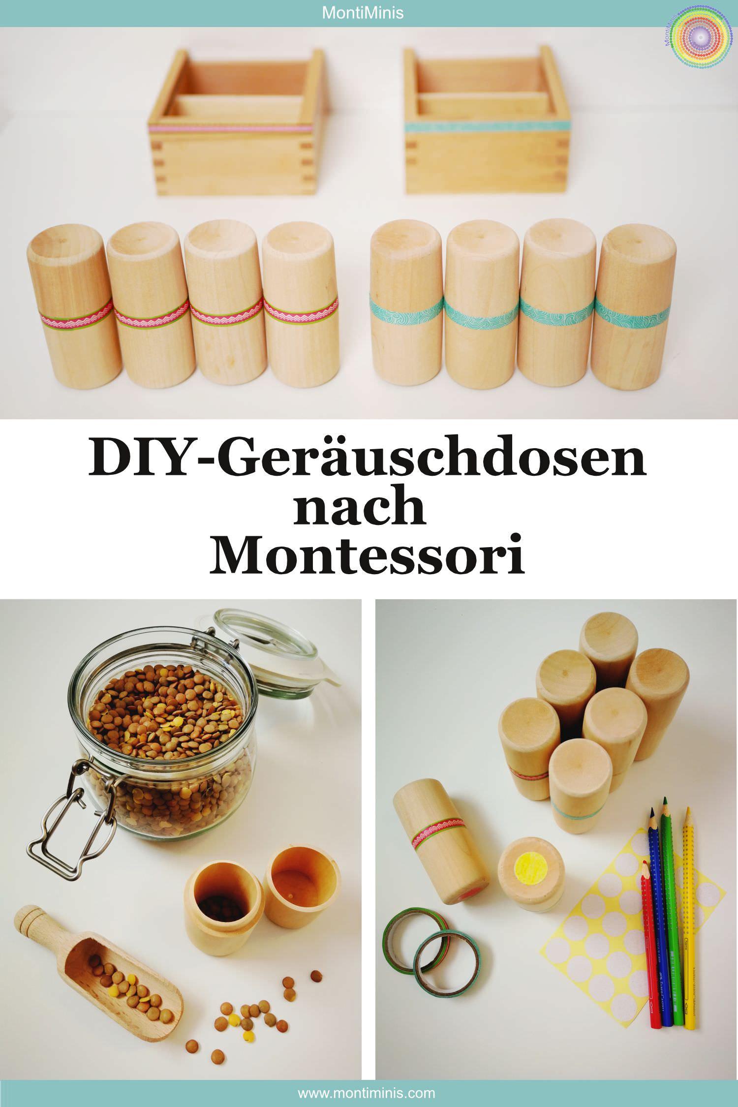 Bekannt DIY: Montessori Geräuschdosen (Anleitung & Spielideen QG96