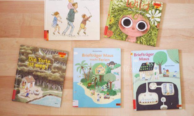 Neue Reihe – Wir lesen gerade: 5 schöne Bilderbücher für Kinder