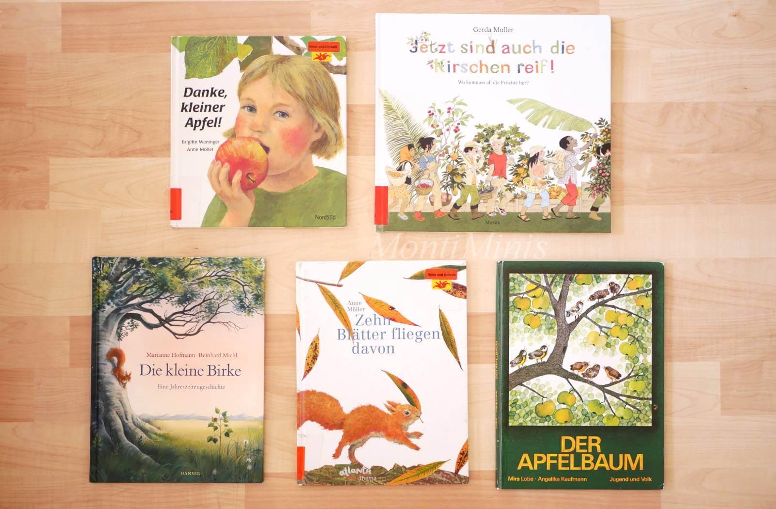 Wir lesen gerade… Herbstbücher für ältere Kinder (ab 3 Jahre)