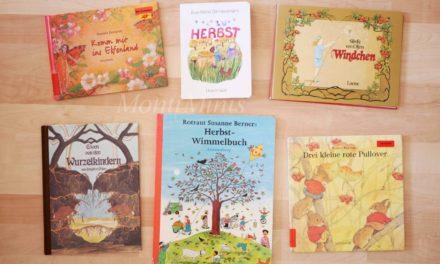 Wir lesen gerade…Herbstbücher für jüngere Kinder (0-3 Jahre)