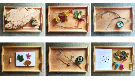 6 Herbst-Tablett-Ideen für Schlechtwettertage