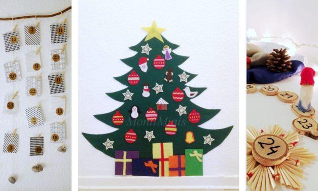 DIY Adventskalender Ideen ( ohne Süßes und Spielzeug)