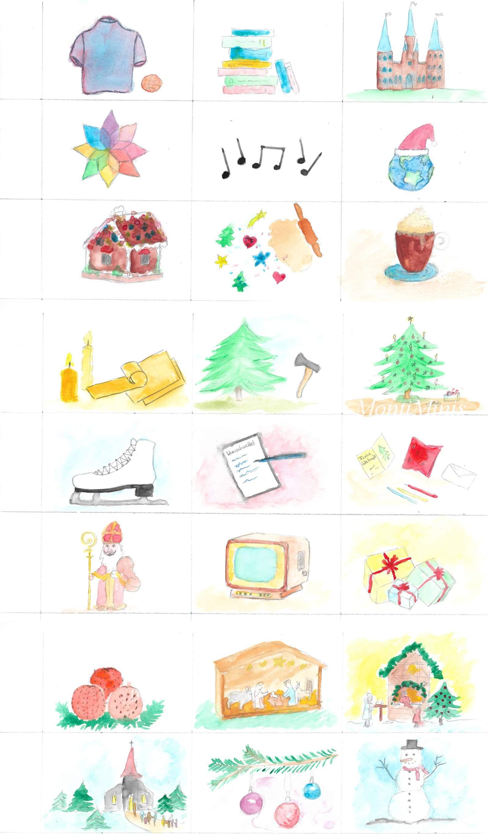 Calendario dolci Idee giocattoliMontessori da dell'Avvento fai tesenza e n0wOv8mN