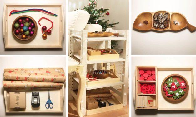 Weihnachtliche Tablett-Ideen
