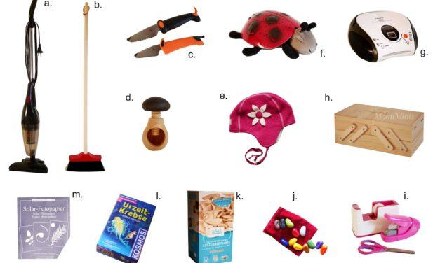 Praktische Geschenke für Kinder