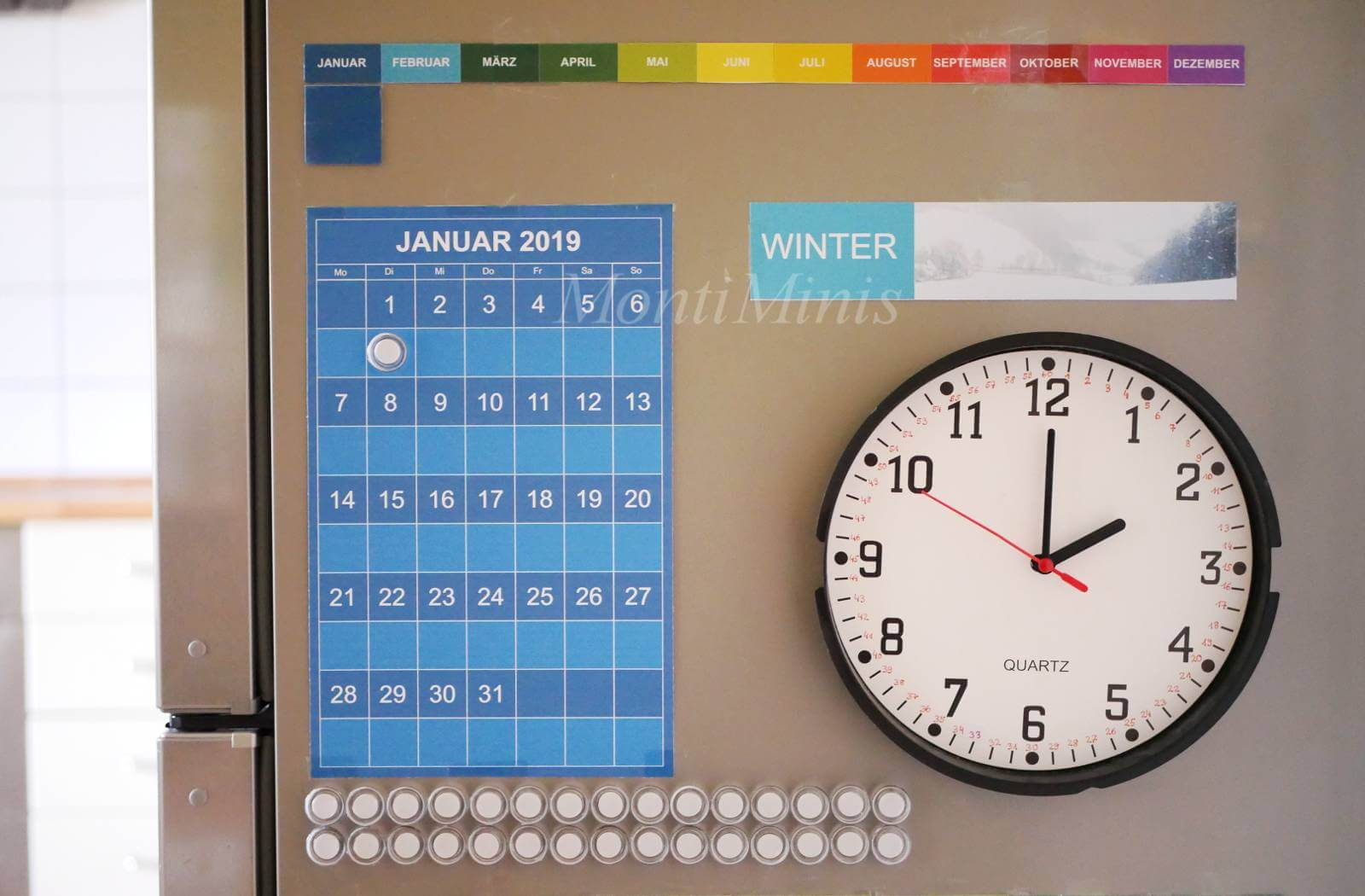 Der Montiminis Kalender 2019 Ist Da Montessori Blog