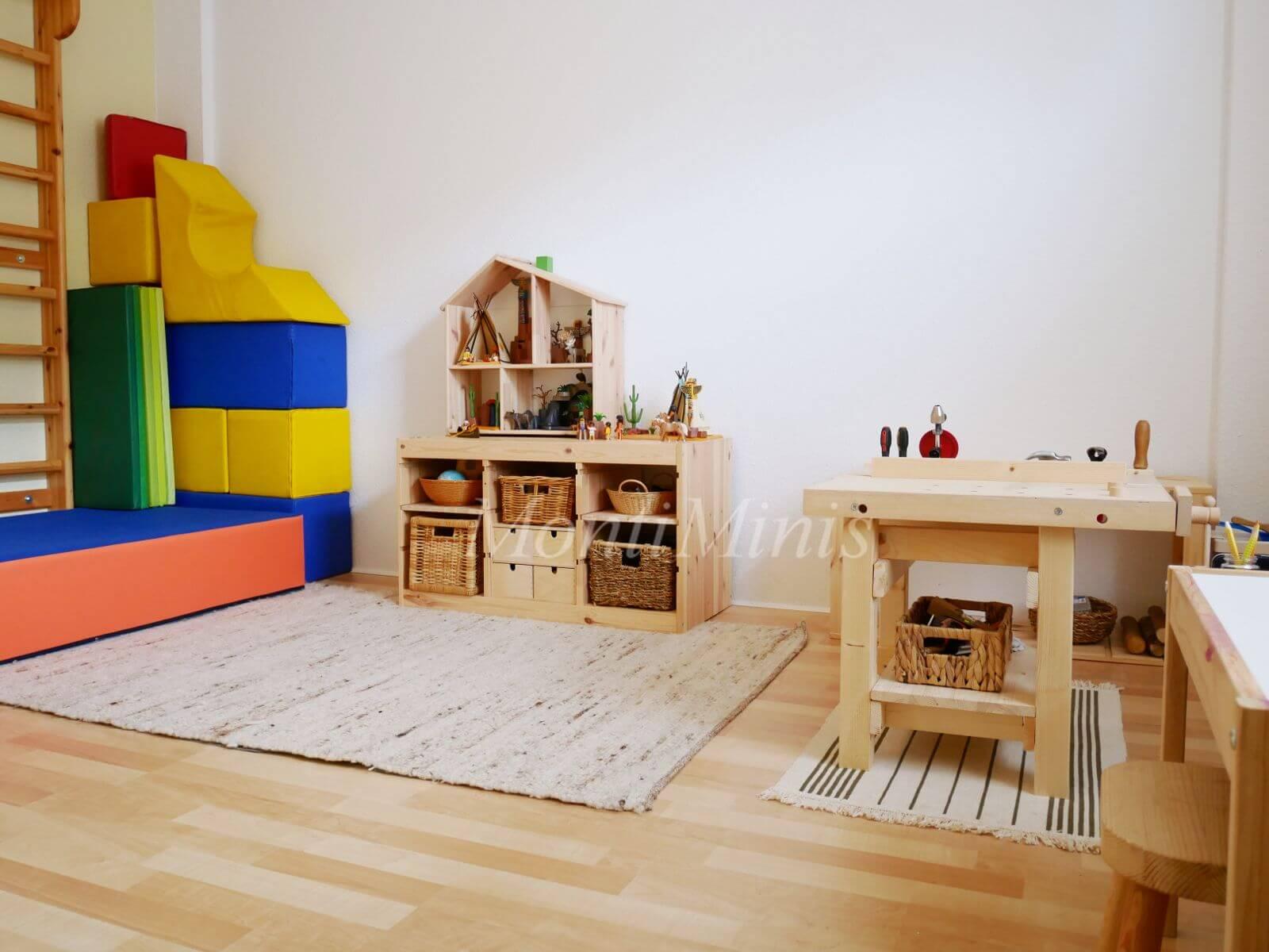 Michels Kinderzimmer mit 3,5 Jahren - Montessori Blog ...