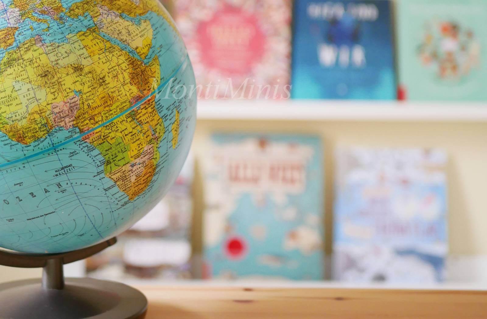 Mit Büchern um die Welt – Kulturen, Menschen und Tiere unserer Erde