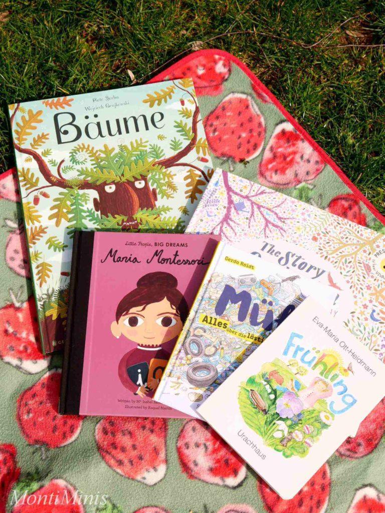 Lesen im Grünen: Little People, Big Dreams: Maria Montessori, Bäume, Müll, Frühling, Montessori zu Hause | MontiMinis.com