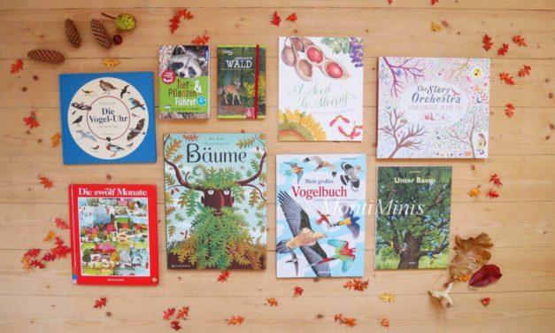 Neue Herbstbücher auf unserem Regal