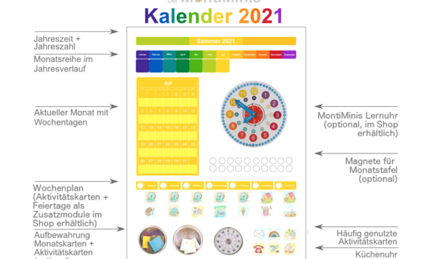 Der MontiMinis Kalender 2021 ist da!