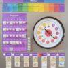 Kinderkalender, Montessori MontiMinis Kinder Kalender, Familienplaner, Wochenplan, Organisation, Familie, Zeit verstehen,