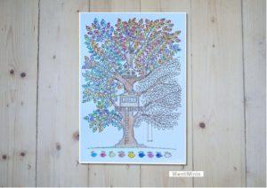 MontiMinis-Baumkalender 2