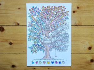 Wetterbaum, Baumkalender, Jahreskalender, Stimmungskalender, Montessori, Waldorf, Naturkind, Klima