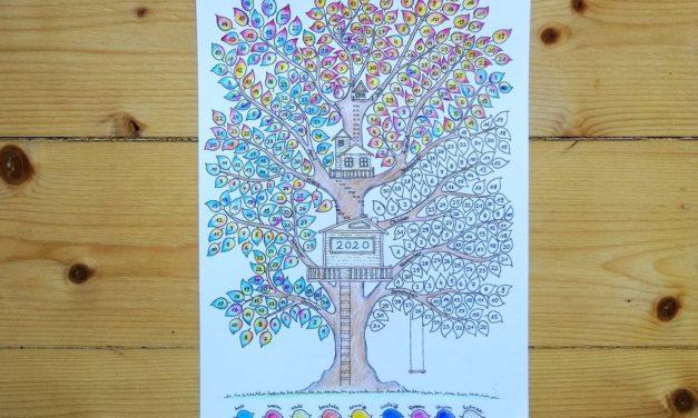 Am Wetterbaum das Wetter im Jahresverlauf beobachten – Unser neuer Baumkalender