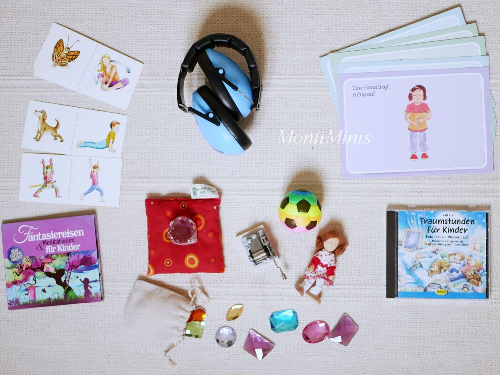 Montessori Zuhause: Eine Ruheecke für Kinder zum Lesen und Entspannen, Achtsamkeit, Kinderyoga, Buddha Board, Waldorf - montiminis.com