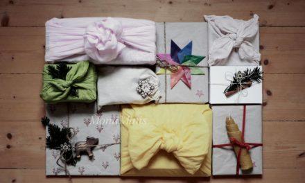 Geschenke nachhaltig verpacken (Upcycling & Lowwaste)