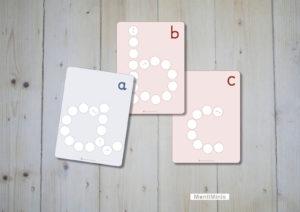 Glasnugget-ABC-Buchstaben-lernen-montessori-muggelsteine-1-montiminis