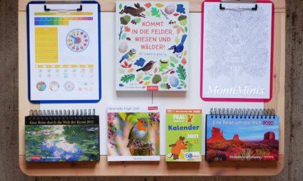 Mit Kindern bewusst Zeit erleben -7 Kalender-Ideen für das Neue Jahr