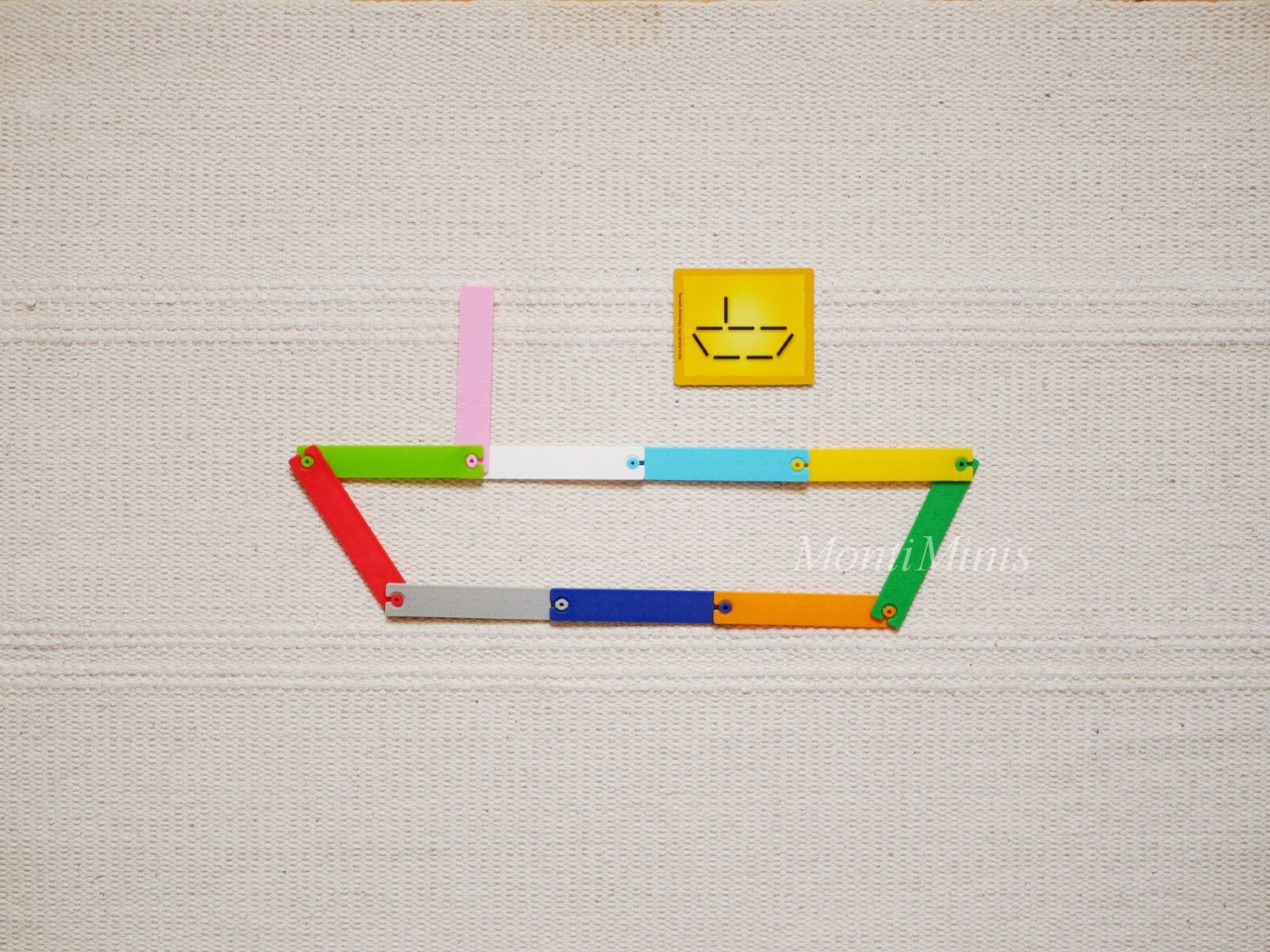 Mathematik-Aktionstablett: Make'n Break Architect-Mathe-Spielideen-Spielerisch lernen, Montessori Zuhause, Unterrichtsmaterial, Kindergarten, Vorschule & Grundschule-montiminis.com