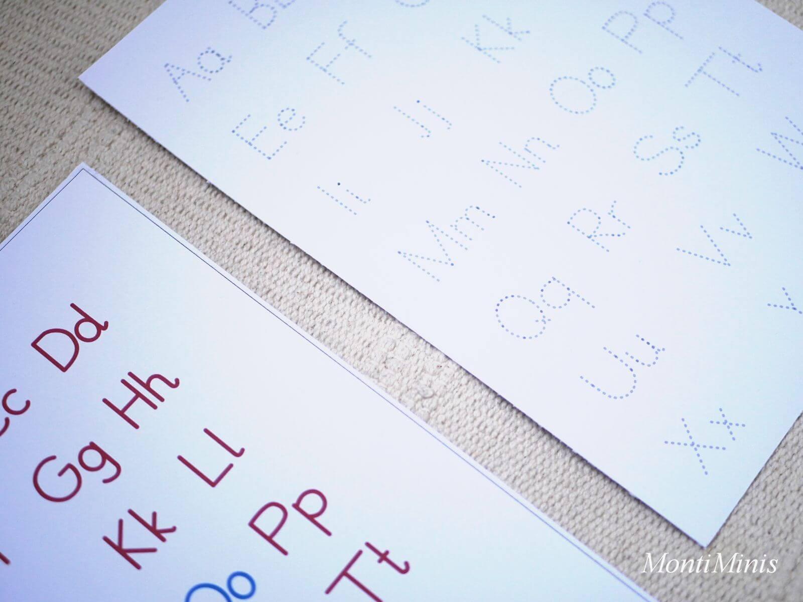 Anlautkasten-Anlautbox-Anlautspiele-Lautierspiele-Erste Buchstabenspiele- Vorschulspiele mit Buchstaben- ABC-Lernkarten-Alphabet-Lernkarten-Sprachmaterial-Unterrichtsmaterial-montessori- montiminis.com