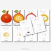 Kürbis DIY-Puzzle Druckvorlage -Herbst Spielidee für Kinder, Unterrichtsmaterial Biologie, Montessori inspiriert - MontiMinis